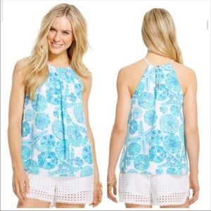 Lilly Pulitzer for Target Sea Urchin Halter Blouse